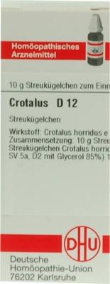 CROTALUS D 12 Globuli