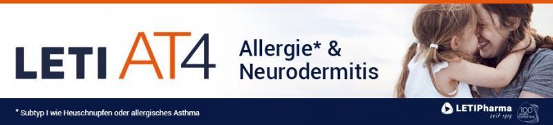 Leti AT 4 bei Allergie und Neurodermitis