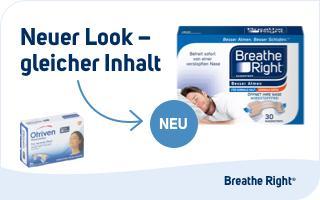 Besser Atmen Breathe Right Nasenstrips