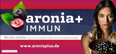 Zu den aronia + IMMUN Produkten